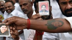 Hundreds Get Jayalalithaa's Name, Face Tattooed On Their Bodies For Her