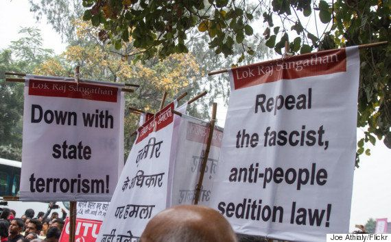 This Journalist Wants Arrested JNU Students To Be Given The 'Joy Of