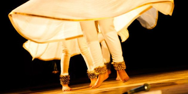 Kathak is an classical Indian dance form, which involves rapid hand and feet movements, in sync with...