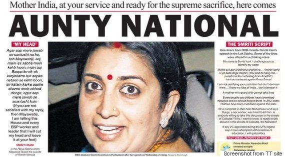 Why I'm Miffed With The Telegraph For Their 'Aunty National'