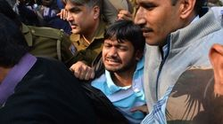 Police Take JNU's Kanhaiya Kumar To An 'Undisclosed