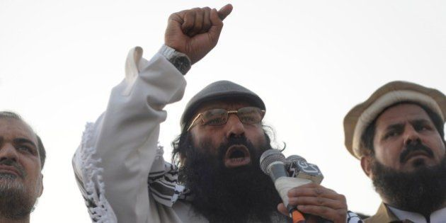 Syed Salahuddin, chairman of the 16-party United Jihad Council, who is also supreme commander of the...
