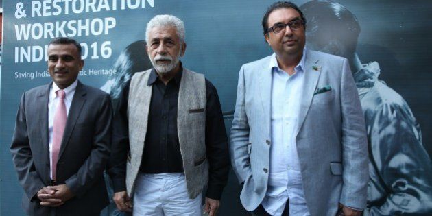Naseeruddin Shah And Amitabh Bachchan Are Promoting Film Preservation And Restoration In