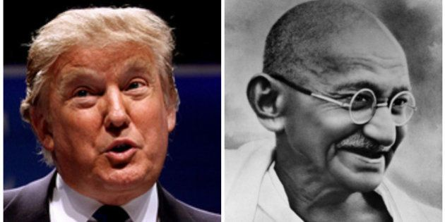 Donald Trump 'Misquotes' Mahatma Gandhi, Suffers Social Media