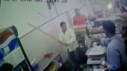 WATCH: Shiv Sena Leader Hits Mumbai Shopkeeper For Refusing To Give Him Free Vada