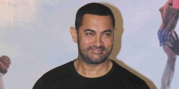 MUMBAI, INDIA - JANUARY 25: Bollywood actor Aamir Khan during a press conference to commemorate 10 years...