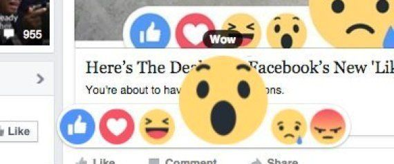 Facebook's Reaction Buttons: Now It's Not Just Your Relationship Status That's