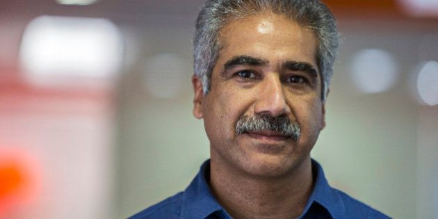 Vineet Taneja, chief executive officer of Micromax Informatics Ltd., poses for a photograph at the company's...