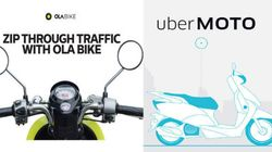 Uber And Ola Enter The Battle Of Bike