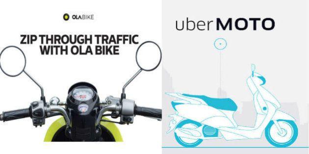 Uber And Ola Enter The Battle Of Bike