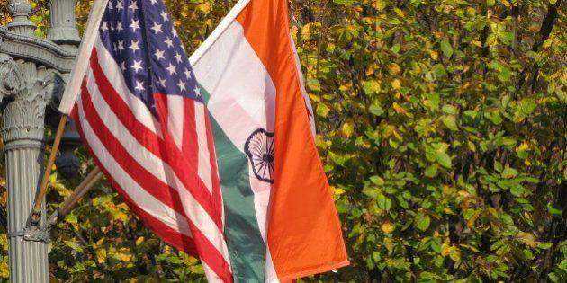 The White House vicinity was decorated with flags of America and India, welcoming the visit of Prime...