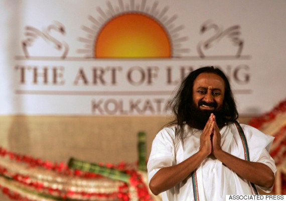 Arch Rivals AAP And BJP Put Aside Their Enmity For Sri Sri Ravi Shankar's