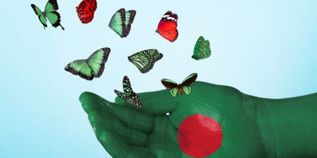 butterfly, country, flag, bangladesh, nation, tradition, culture, freedom, dream, hope, love, peace,...