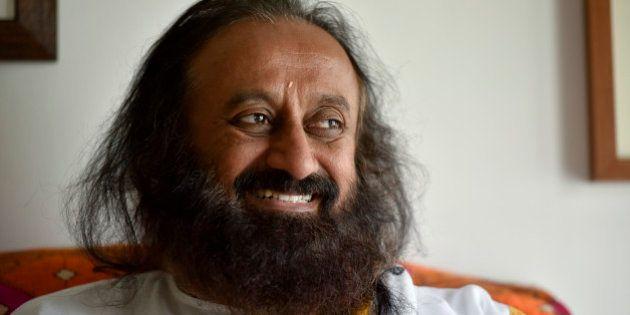 NEW DELHI, INDIA - MARCH 1: Spiritual guru and founder of the Art of Living Foundation Sri Sri Ravi Shankar...