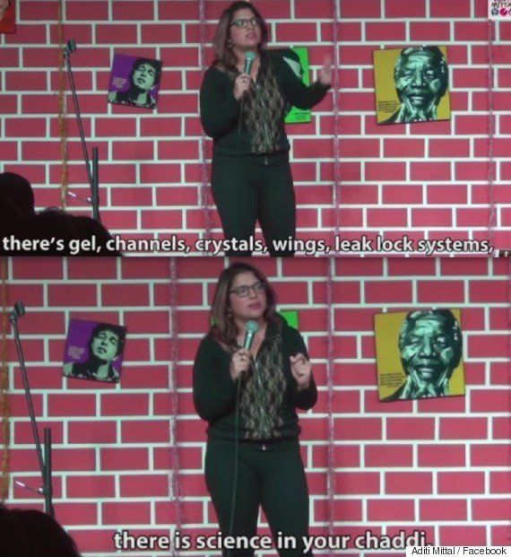 'Science In Your Chaddis': This Stand-Up Comic's Take On Sanitary Pad Ads Is