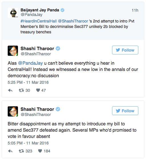 A Lok Sabha Of Homophobic