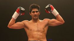 Vijender Singh Clinches Fourth Successive Knockout