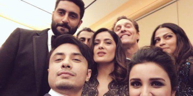 Akshay, Parineeti, Ali Zafar, And Abhishek Hung Out With Matthew McConaughey And Salma