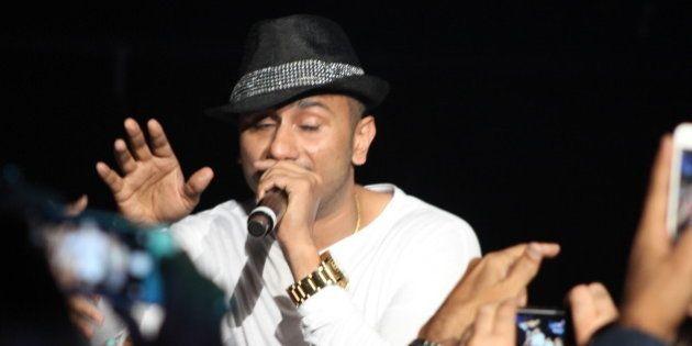 Yo Yo Honey Singh   SLAM The Tour - 20 September 2014 - IZOD Center, East Rutherford, New Jersey. Photo by James C. Dooley