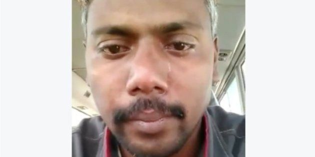 WATCH: Indian Driver's Tearful Appeal For Rescue From Cruel Saudi