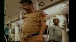 Viral Video Of 'Drunk' Cop In Delhi Metro Actually Showed Him Suffering A