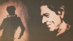This Is What SRK Was Inspired To Do When He Saw A Fan's Sand Art
