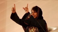 Mehbooba Mufti Stakes Claim For J&K Govt Formation With BJP