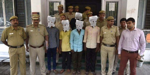 NEW DELHI, INDIA - MARCH 25: Delhi police arrested 5 accused after a 40-year old dentist Pankaj Narang...