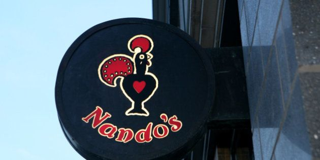 General view of a Nando's branch in central