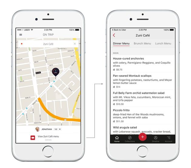 Now You Can Call An Uber Cab Even Through Other