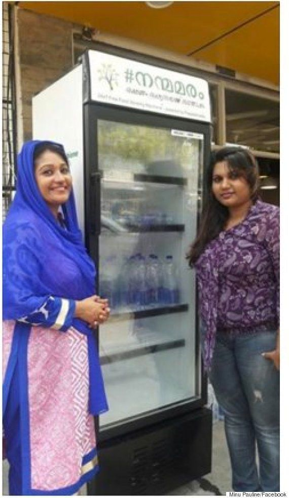 How The Folks Of Kochi Are Helping A Restaurant Owner Keep A Fridge Full Of Goodies To Feed The