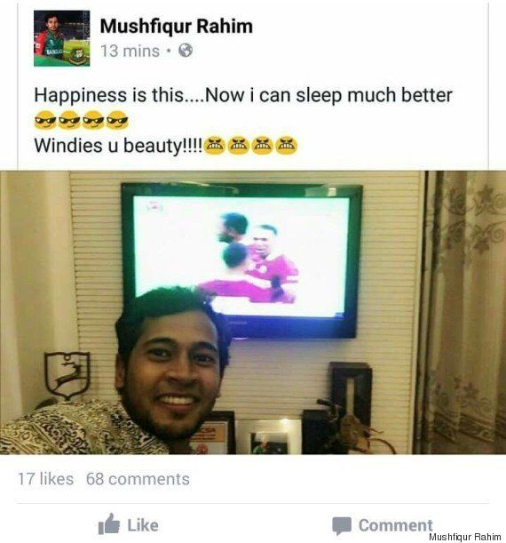 Indian Cricket Fans Shut Down Bangladeshi Cricketer Who Tweeted Something Really