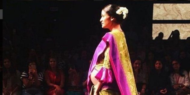 Carol Gracias' Baby Bump Totally Stole The Show At The Lakme Fashion