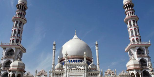 Mosque in The Darul Uloom Deoband, an Islamic school in India where the Deobandi Islamic movement was