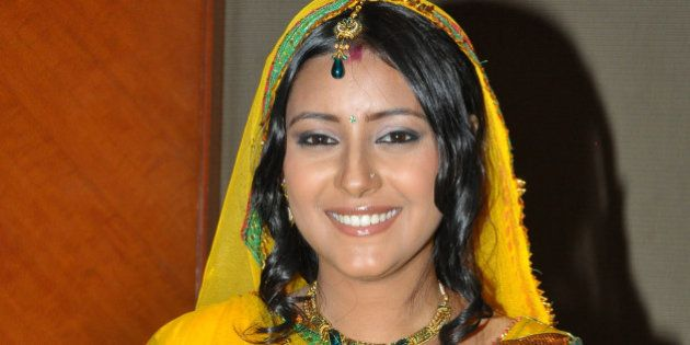 MUMBAI, INDIA � JULY 23: Pratyusha Banerjee, who plays the new grown-up Anandi in the serial Ballika...