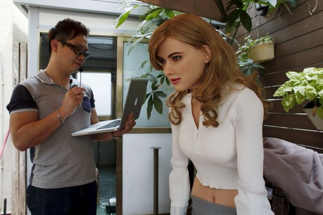Man Builds $50000 Robot Which Looks Like Scarlett