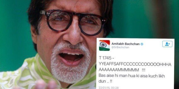 13 Tweets By Amitabh Bachchan That Went Over Our