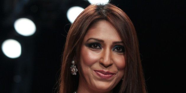 MUMBAI, INDIA - AUGUST 05: Pooja Misrra walks the runway at the Jewel Trendz show on day 2 of India International...