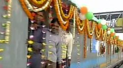 India's Fastest Train Gatiman Express Sets Off From Delhi, Reaches Agra In 100