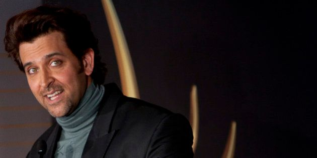 Bollywood actor Hrithik Roshan speaks during the press conference for the 17º Edition of IIFA Weekend...