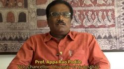 Embattled Hyderabad VC Appa Rao Podile Is In News Again, For