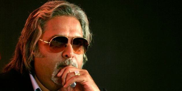 Kingfisher Airlines Chairman Vijay Mallya attends a news conference in Mumbai in this February 6, 2007...