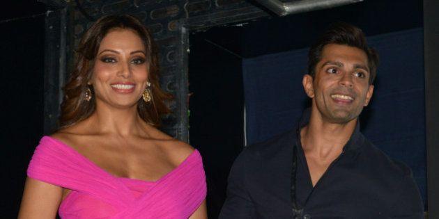 MUMBAI, INDIA DECEMBER 22: Bipasha Basu, Karan Singh Grover at the Trailer and music launch of their...
