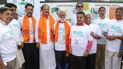 80 Year-Old NRI Walks From Kanyakumari To Delhi For
