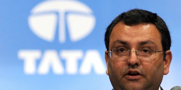 Tata Group chairman, Cyrus Mistry addresses the 10th Annual General Meeting of Tata Consultancy Services...