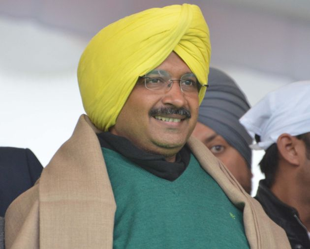 Amarinder Is 'Punjab Da Captain' To Remind Voters Where Kejriwal Comes