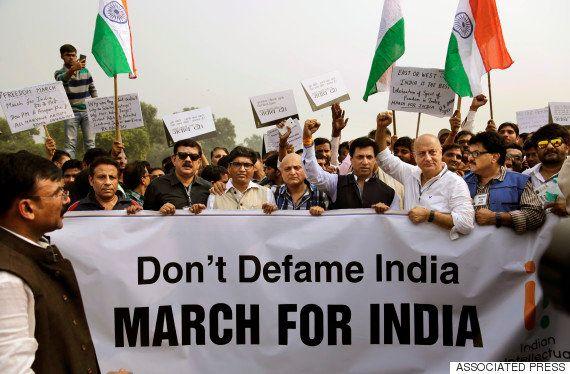 How Jammu & Kashmir's PDP-BJP Govt Turned Anupam Kher Into A Free Speech