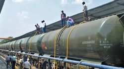 Special Train Carrying Water Reaches Drought-Hit
