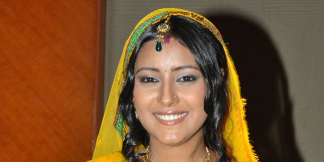 MUMBAI, INDIA � JULY 23: Pratyusha Banerjee, who plays the new grown-up Anandi in the serial Ballika...