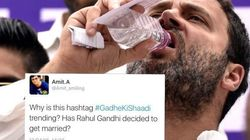 #GadheKiShaadi Trended On Twitter And Nearly Everybody Thought Of The Same